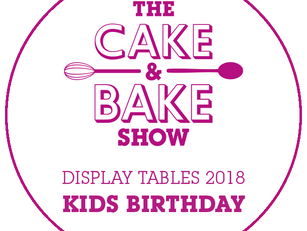 See us at The Cake & Bake Show