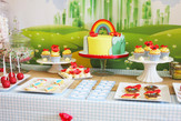 Wizard of Oz themed party!