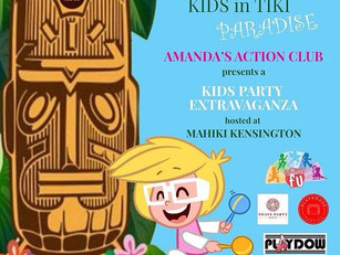Kids Party Extravaganza with Amanda's Action Club @ Mahiki Kensington