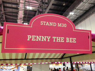 Penny the Bee @ The Cake & Bake Show!!