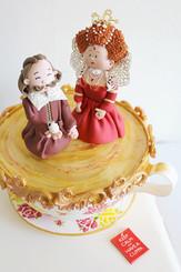 My 'Best of British' cake @ The Cake & Bake Show, London
