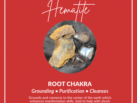 Hematite Stone for the Triple S Effect.