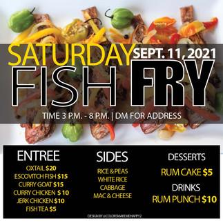 Fish Fry Flyer for Instagram promo