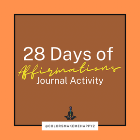 28 Days of Affirmations Activity