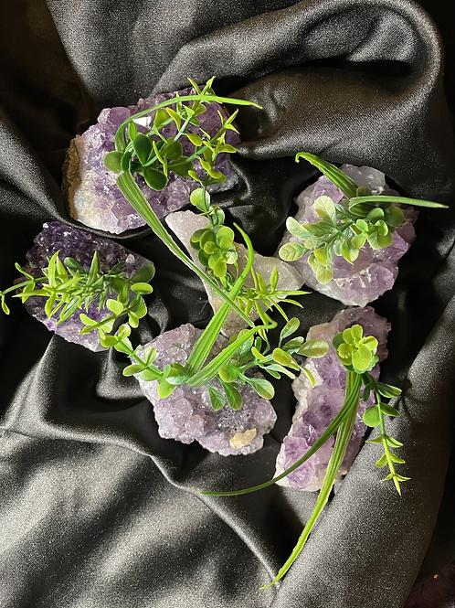 Amethyst Blossoms Druzy