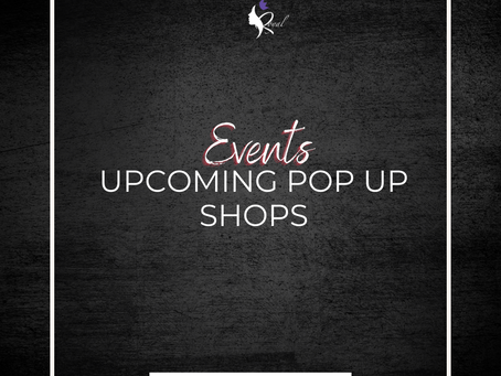 Upcoming Events/Pop Ups