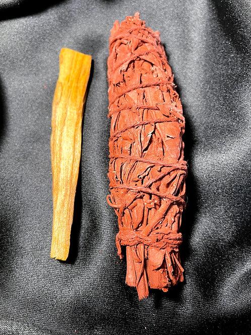 Red Dragon Blood Sage w/Palo Santo