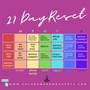 21 Day Reset