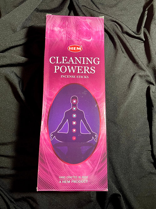 Cleaning Powers