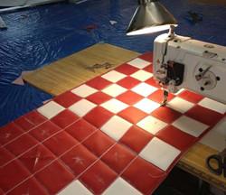 Custom-Fabric-Checkered