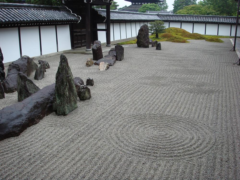 Tofuku-ji Temple Garden, Kyoto