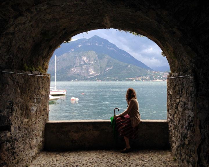 Varenna Boardwalk, Lake Como, Italy
