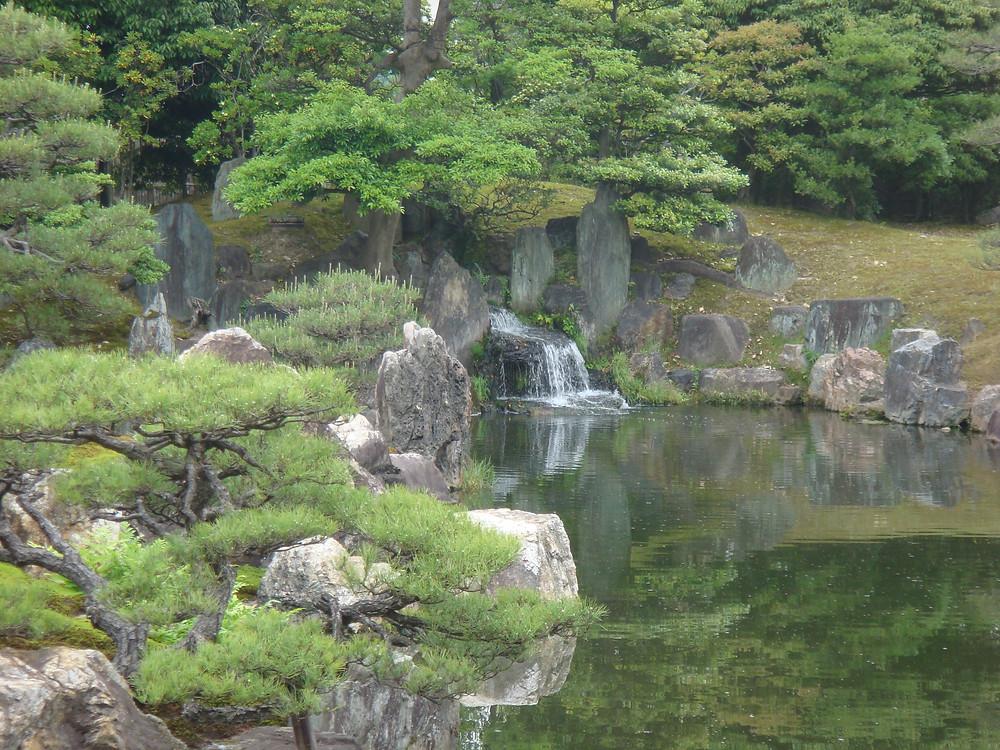 Ninomaru Waterfall