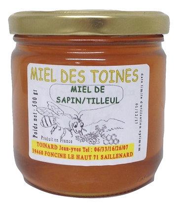 Miel de Sapin/Tilleul 500 g