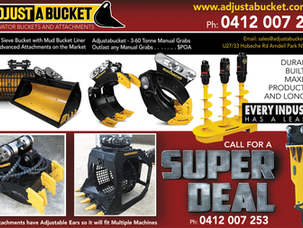 Excavator Buckets and Attachments Super Deal