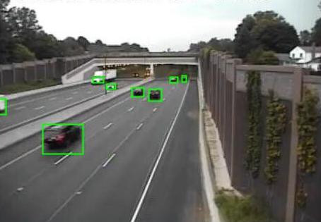 Distributed Mean-Field-Type Filter for Vehicle Tracking