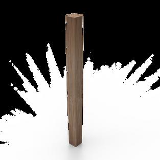 "3.5"" Blank Post"