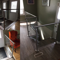 Stainless Steel with Glass