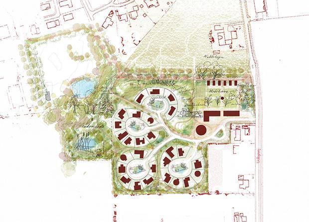 Siteplan | Drawing by Rural Agentur