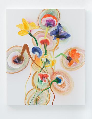 Instant Karma Robin, 110 x 90 cm, 2017