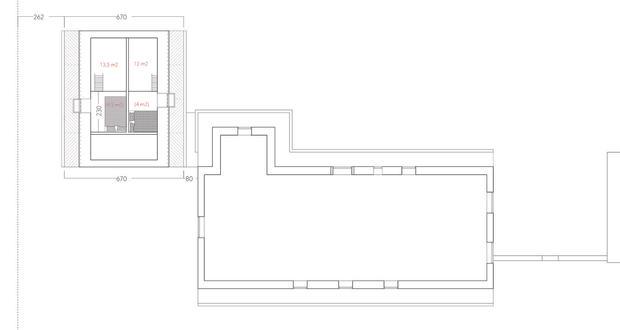Floorplan, upper floor
