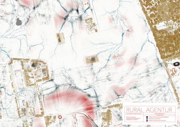 Remote sensing map Østagergård