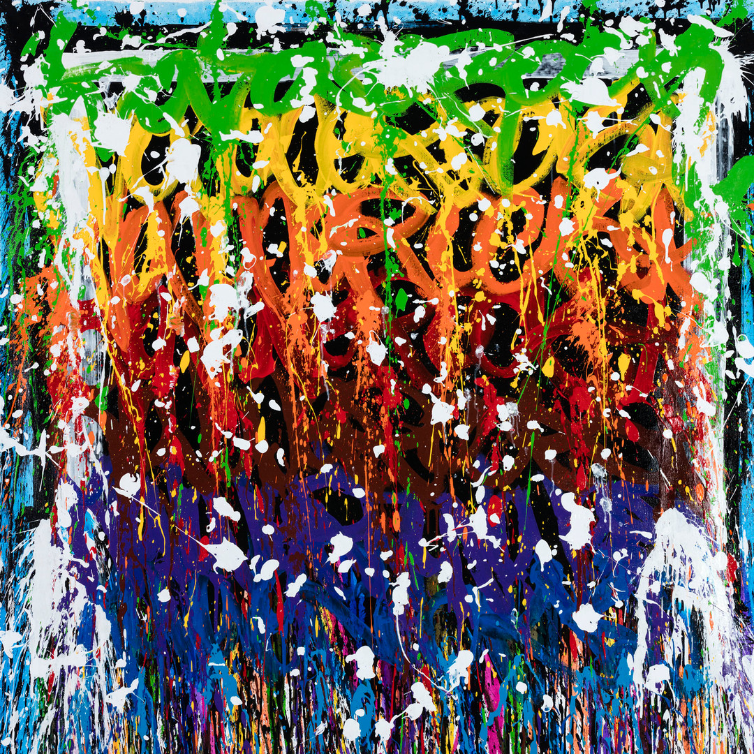 2021-The Story Of My Life, acrylique et