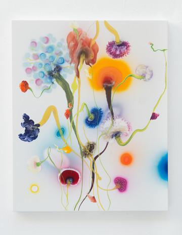 Psychotropical Arena, 110 x 90 cm, 2017