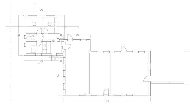 Floorplan, groundfloor