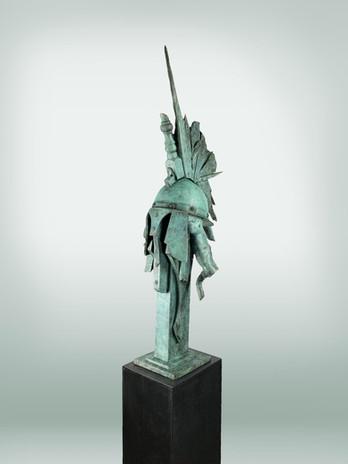 Casque bleu bronze 110x35x37cm.jpg