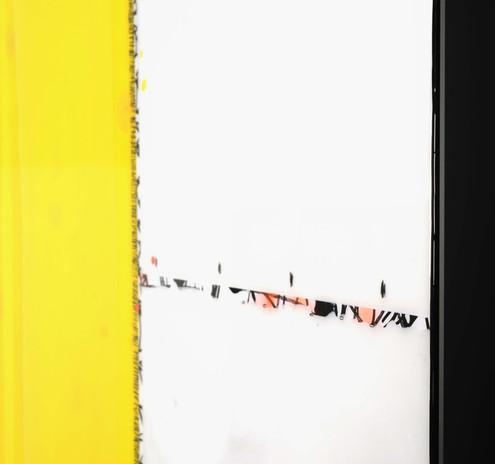 coté détail  87 87 cm abstrait titre 204