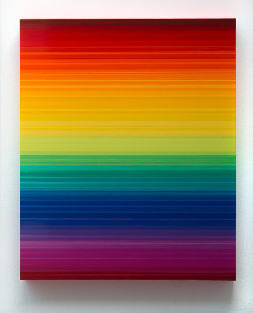Technicolor Horizon I, 170 x 140 x 12 cm