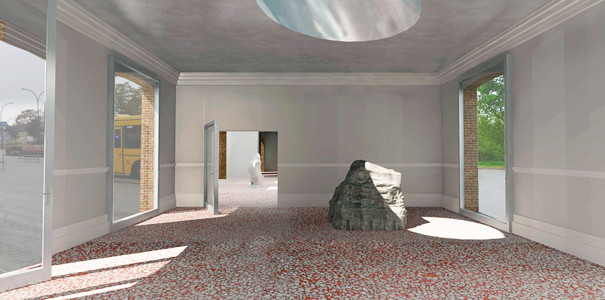 Rendering | Exhibtion space
