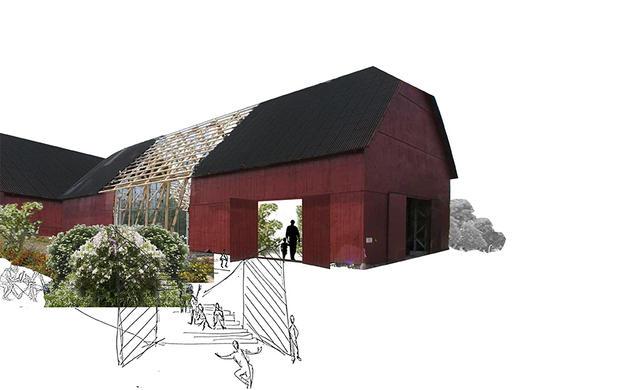 Creative facilities exterior | Photomontage by Rural Agentur