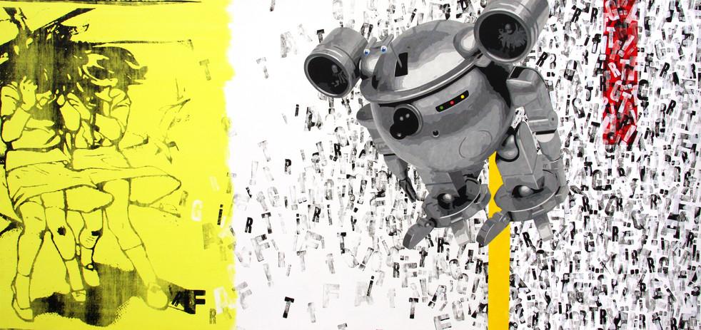 graff attack 145x307cm  2008.jpg