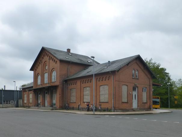 Skælskør train | station current state