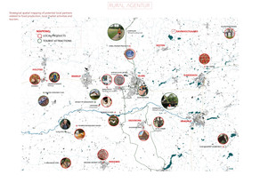 Map | Mapping the social structures in the area - what can Ravnholtgaard contribute to the local area?