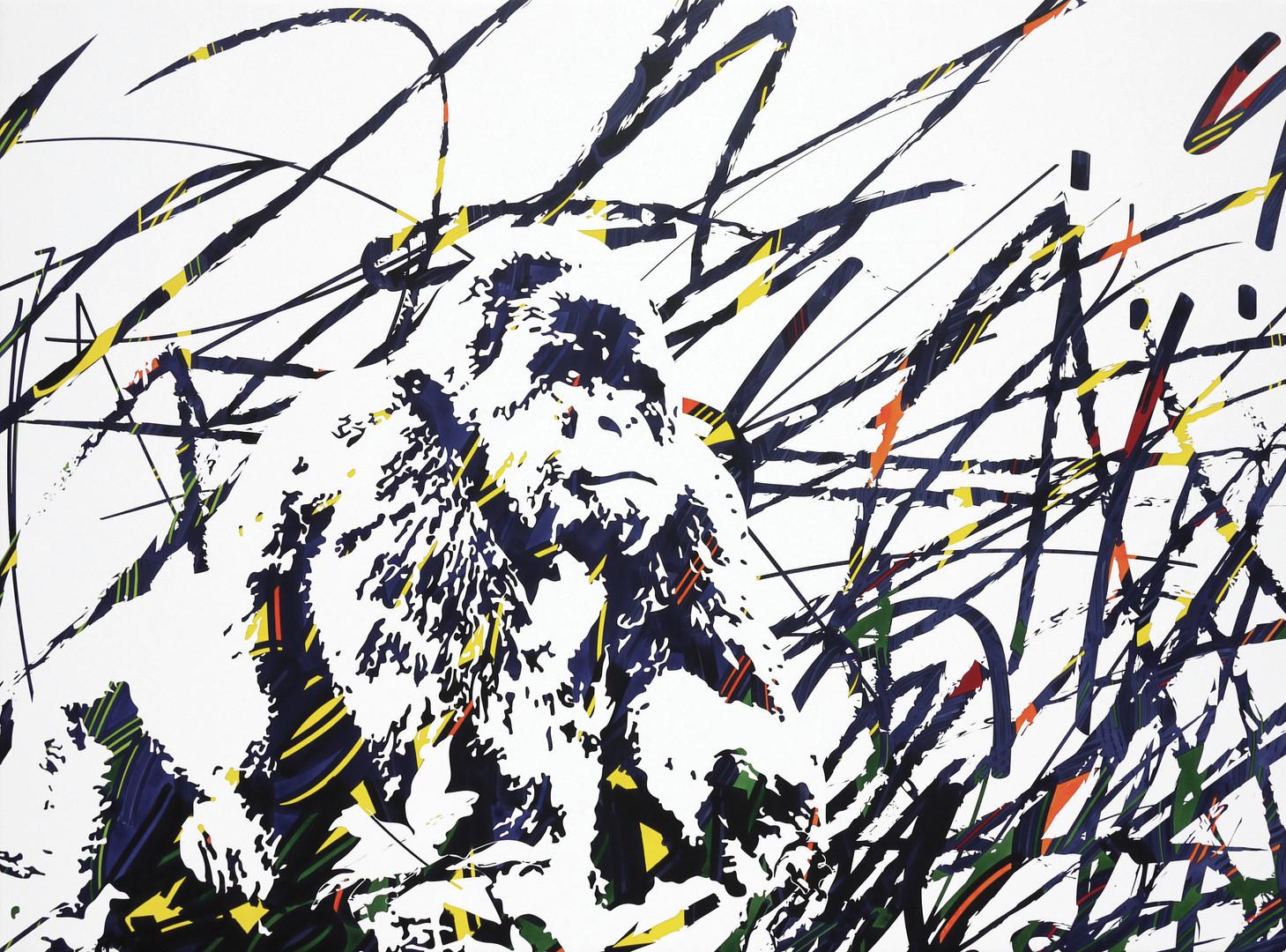 gorille 98x132cm 2016.jpg