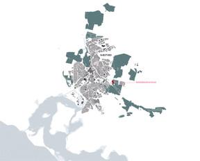 Map   Rønnebæksholm and Næstved city