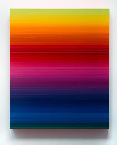 Technicolor Horizon II, 170 x 140 x 12cm