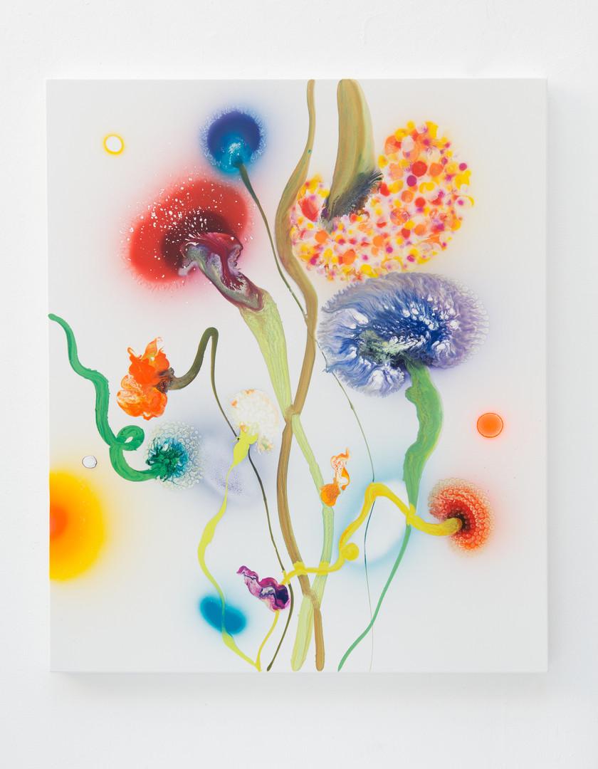 Psychotropical Phoenix, 130 x 110 cm, 20
