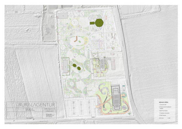 Siteplan | Permaculture garden plan by Birgit Rothmann