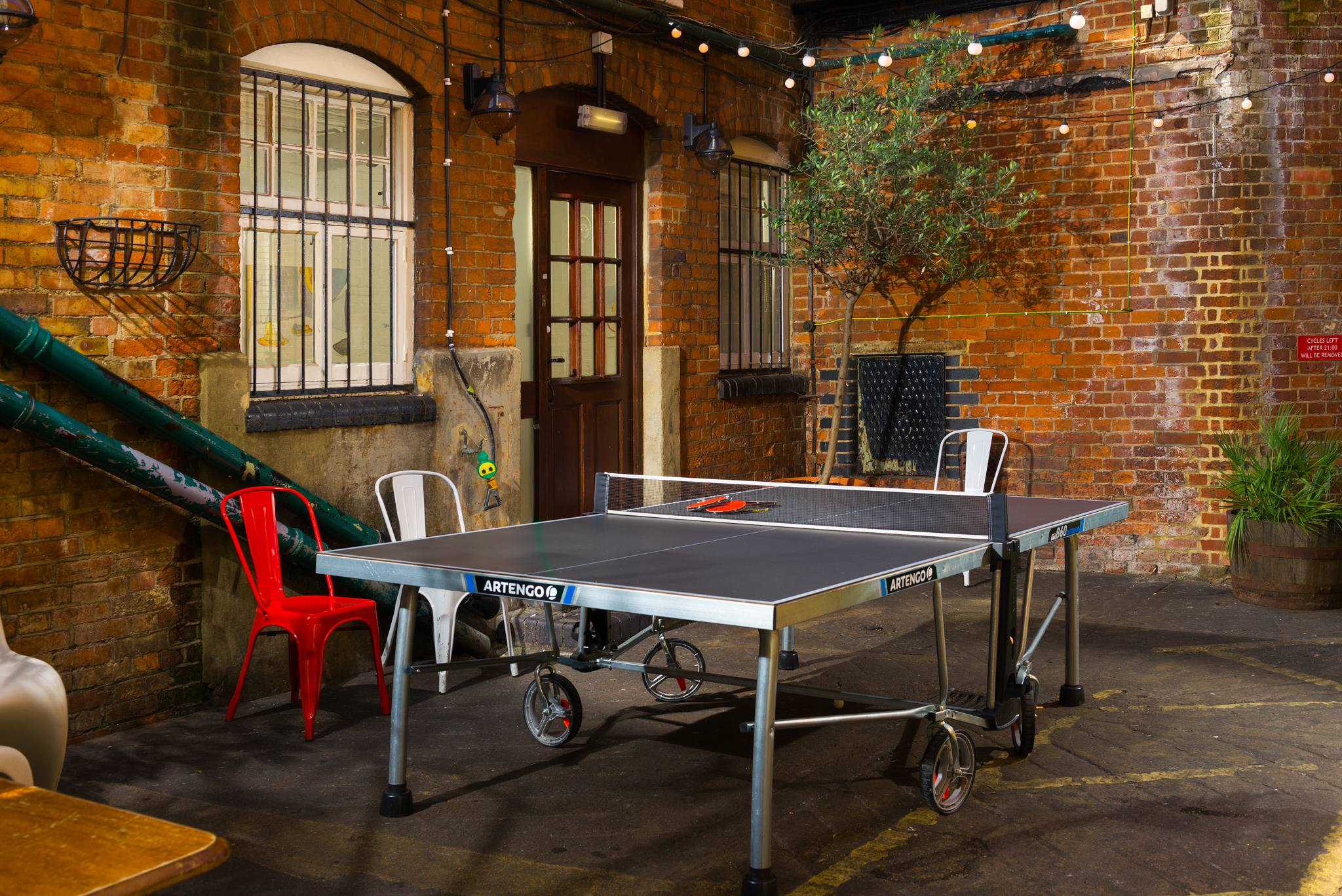 The Jam Factory Oxford Ping Pong