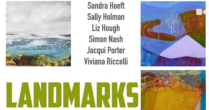 Sandra Hoeft, Sally Holman Liz Hough, Simon Nash, Jacqui Porter and Viviana Riccelli