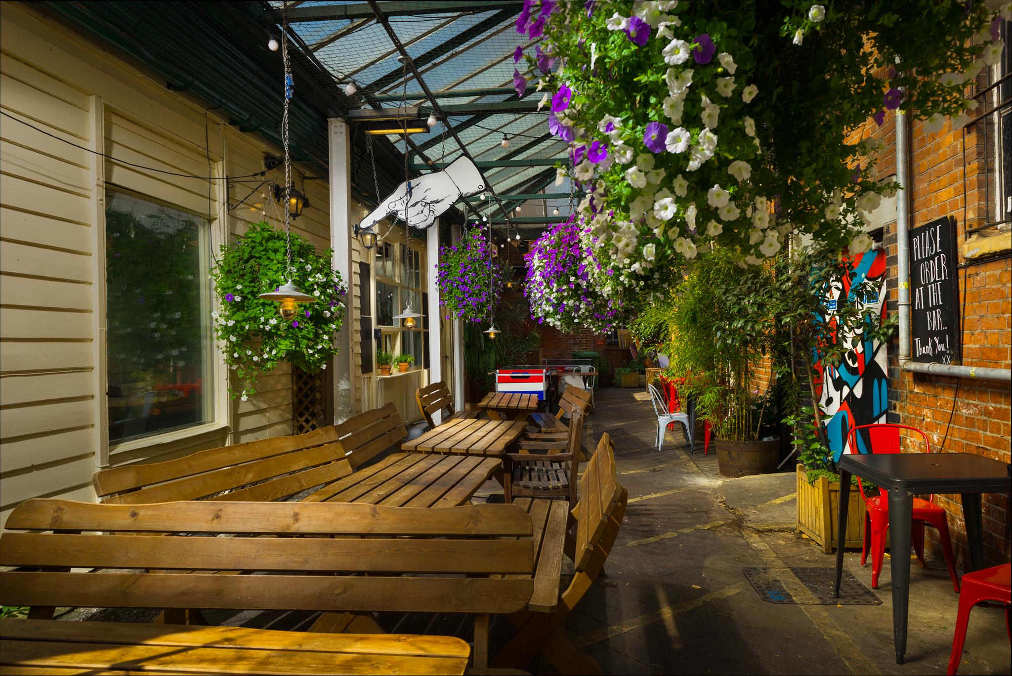 The Jam Factory Oxford Pub Garden