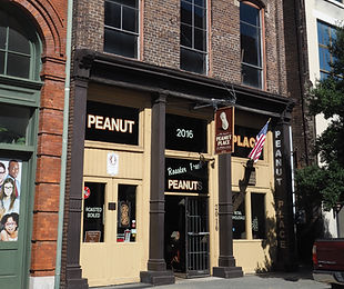 Peanut Place on Morris Avenue seen on guided historical tours in Birmingham with Red Clay Tours