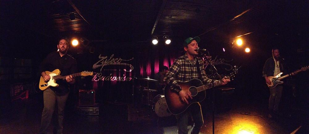 Benjy Davis, Birmingham, Zydeco, 2/10/2012
