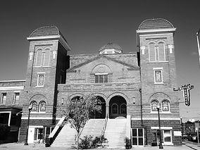 16th Street Baptist Church on our Civil Rights Tour in Birmingham, AL