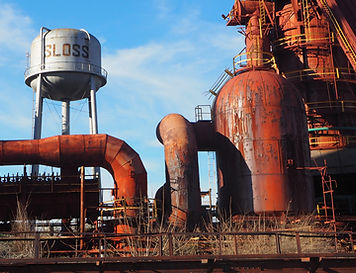 Sloss Furnaces seen on guided historical tour with Red Clay Tours