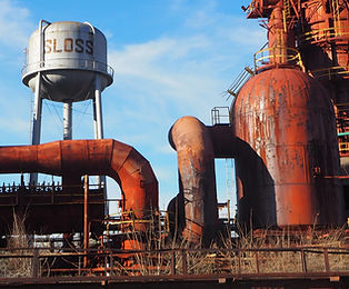 Sloss Furnace, Sloss Furnaces on Red Clay Tours Historical Tour of Birmingham, AL